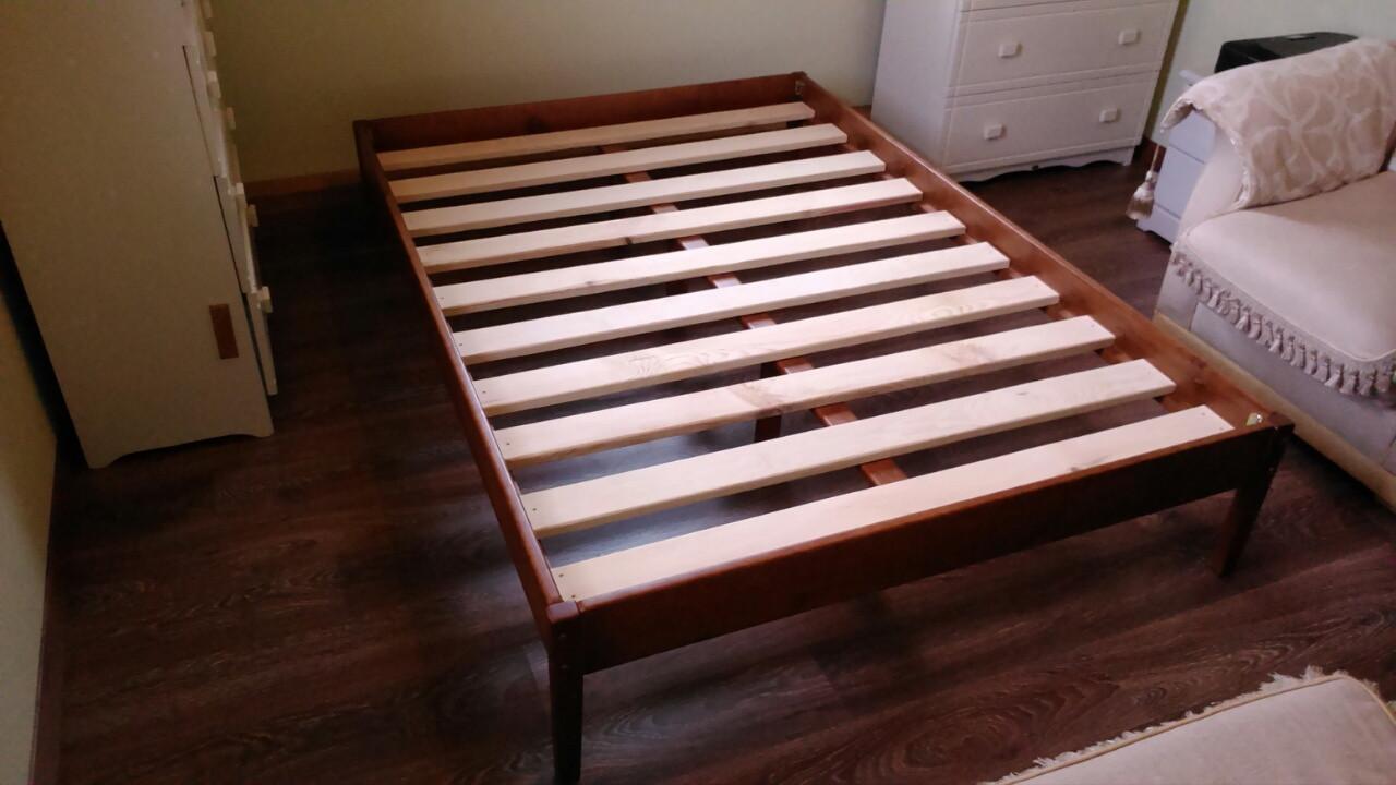 """Двоспальне ліжко-каркас """"Березня"""""""