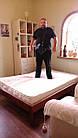 """Двоспальне ліжко-каркас """"Березня"""", фото 2"""