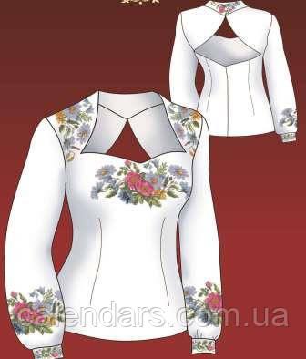 """Набор для вышивания женской вышиванки """"Пастораль"""""""