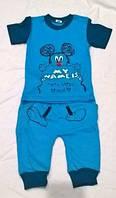 Костюмчик для мальчика(кофта короткий рукав+штаны )