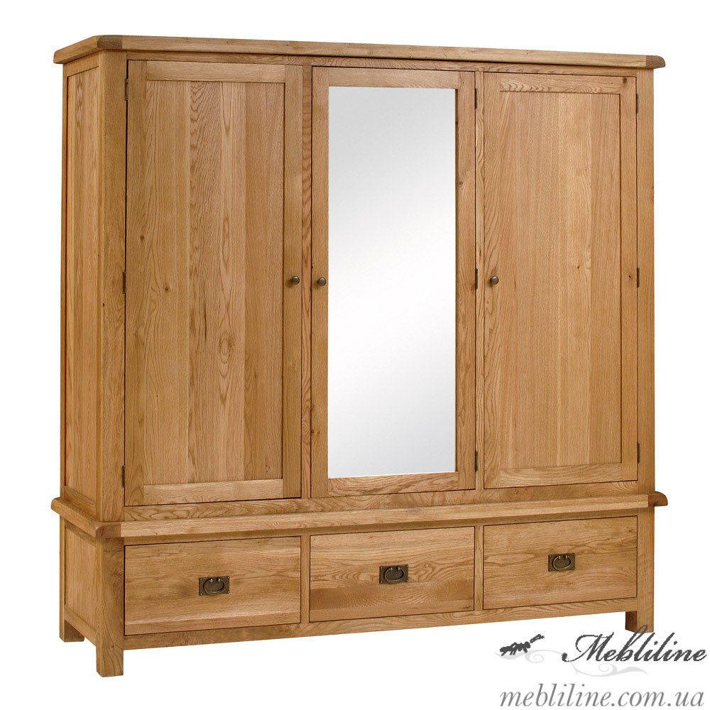 "Шкаф 3-хстворчатый ""Salisbury"" с зеркалом"