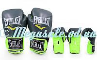 Перчатки боксерские PU Elast Neon 5036 на липучке: 8- 12 унций oz (кожвинил)