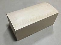 Шкатулка-заготовка из дерева. Куфр. 21х11см. Без фурнитуры.