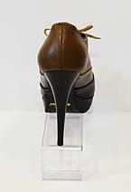 Туфли кожаные на шпильке Kluchini 4175, фото 3