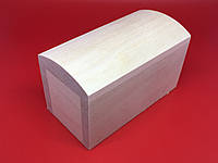 Шкатулка-заготовка из дерева. Куфр. 11х6см. Без фурнитуры.