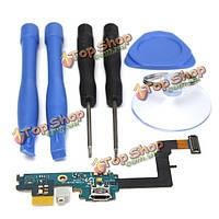 Micro-USB порт разъем гибкий кабель и инструмент для Samsung Galaxy S2 i9100