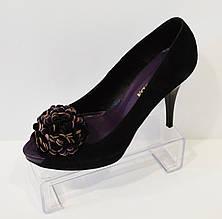 Туфли замшевые Bravo Moda 484 37 размер
