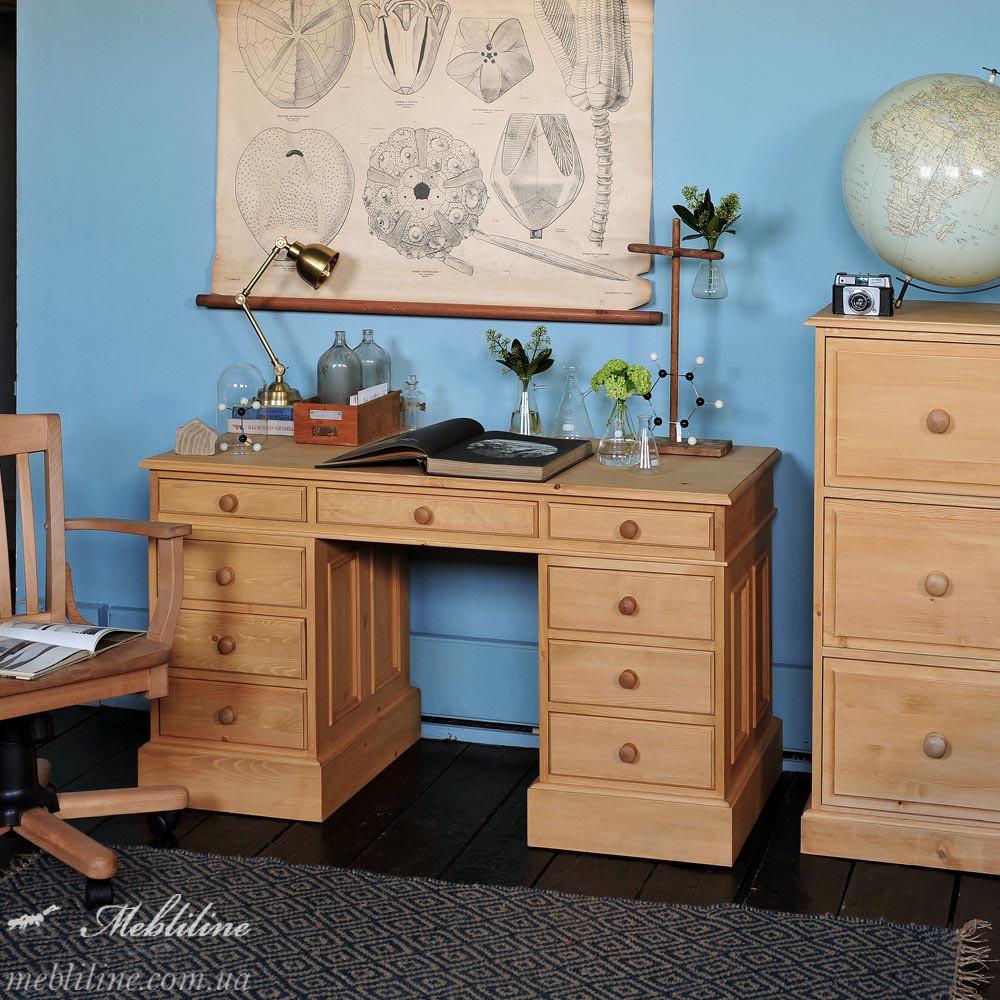 """Письменный стол """"Farmhouse """" с двумя тумбами"""