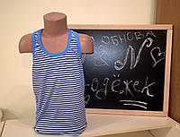 Борцовка(майка) для мальчика Тельняшка
