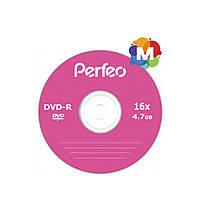 Диски Perfeo DVD-R 4,7 GB 16x Bulk/50
