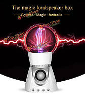 Волшебная Music прохладный плазменный шар сенсорный освещения Беспроводная связь Bluetooth 4.1 стерео аудио динамик для iPhone