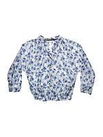 Блузка голубая 4,5 лет (Д)