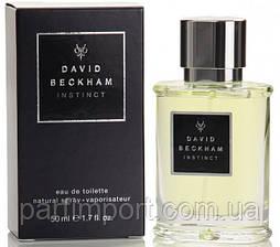 David Beckham Instinct 50 ml туалетная вода мужская (оригинал подлинник  ИСПАНИЯ)