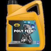 Масло моторное синтетическое Kroon Oil Poly Tech 10W-40 5л.