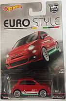 Hot Wheels Euro Style модель Fiat 500