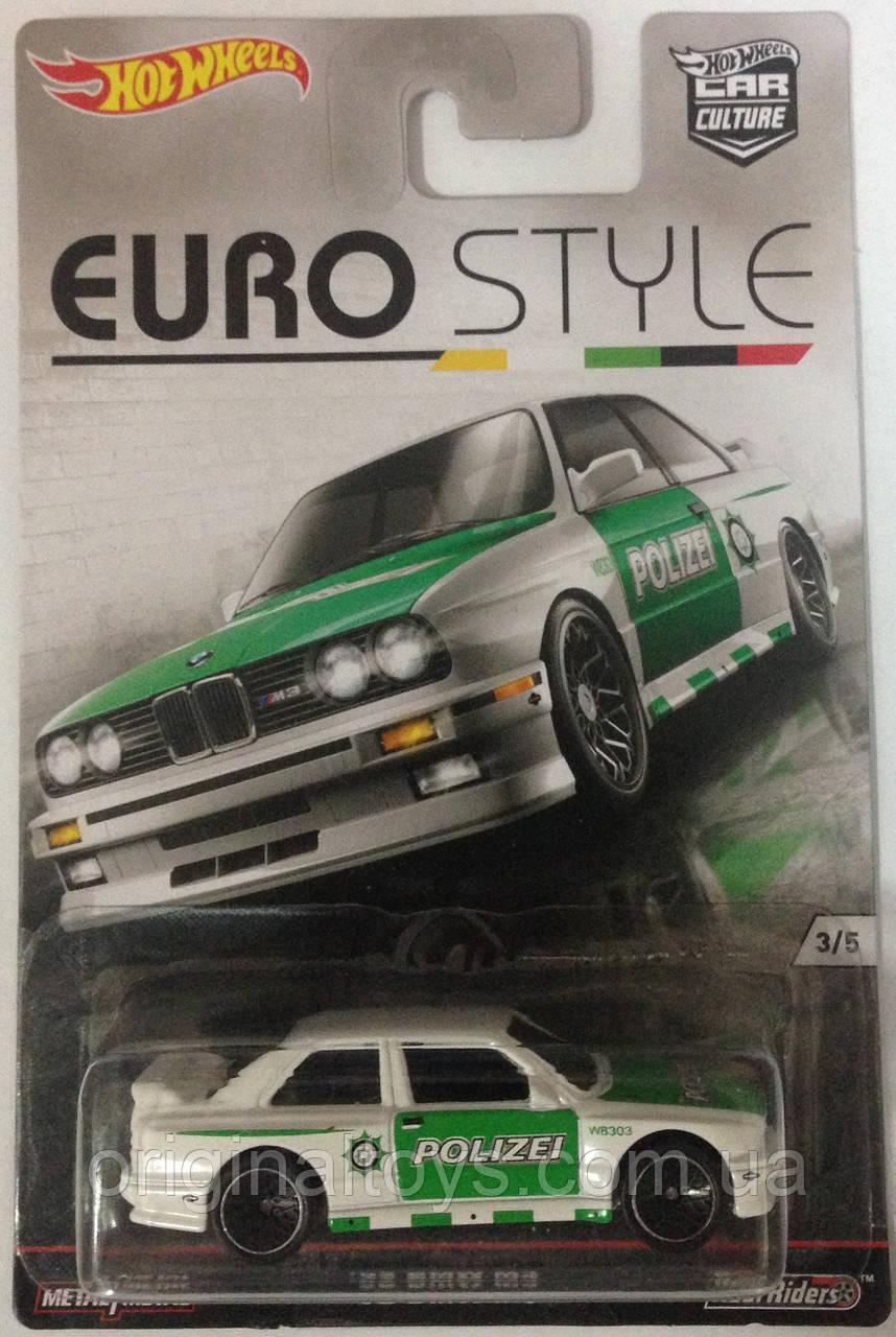 Hot Wheels Euro Style модель BMW 92 M3