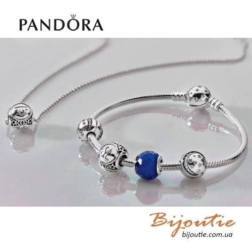 Pandora браслет звездное небо 590735cz серебро 925 пандора оригинал