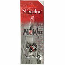 Niegelon Ножницы 06-0815 маникюрные заусеничные загнутые Professional Titan, фото 3