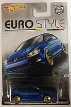 Hot Wheels Euro Style модель Volkswagen Golf MK7