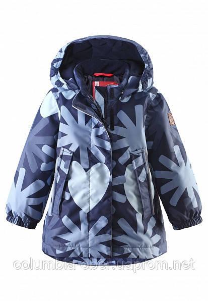 Зимняя куртка для девочек Reima Misteli 511216-6981. Размеры 80-92.
