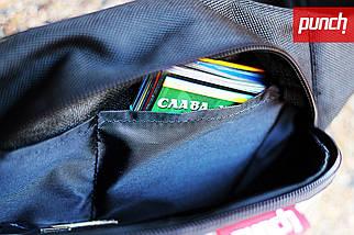 Поясная сумка из ткани PUNCH Black/Camo Mars, фото 2