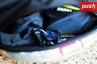 Поясная сумка из ткани PUNCH Black/Camo Mars, фото 3