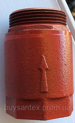 Клапан 40 мм чугунный на байпас, фото 2