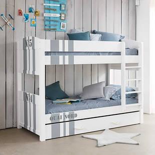Двоярусне ліжко «NORD»