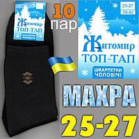 Носки мужские махровые Топ-Тап Житомир Украина  25-27р. НМЗ-0482