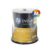 DVD+R диски для видео Hewlett-Packard Cake box100