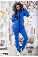 Спортивный женский костюм на синтепоне(42-46), доставка по Украине