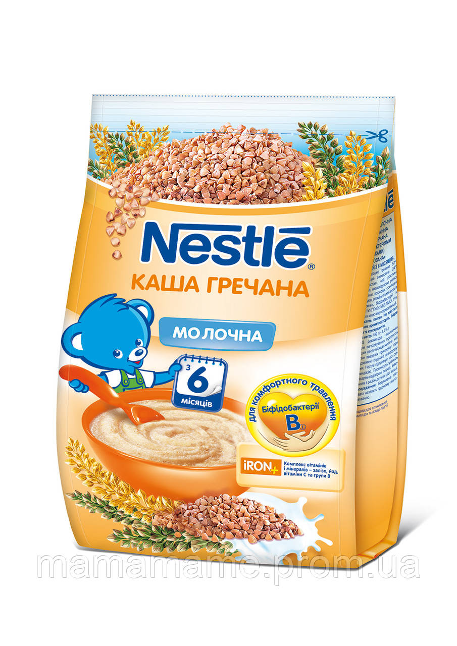 Каша молочная Nestle гречневая с бифидобактериями