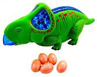 Динозавр музыкальный в коробке, 36,5*15*13,5 см.