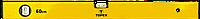 Уровень алюминиевый TOPEX, тип 500, 100 см, 2 глазка