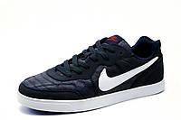 Спортивные кроссовки Найк, мужские, темно-синие, фото 1