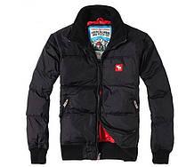 Теплый пуховик ABERCROMBIE & FITCH. Качественная куртка. Мужской зимний пуховик. Купить онлайн. Код: КДН599