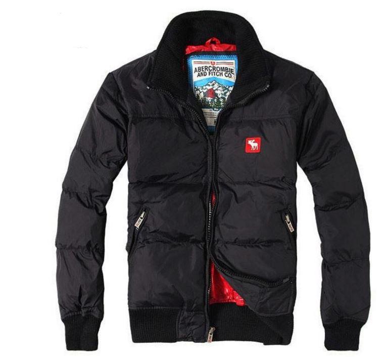157c9303af30 Теплый пуховик ABERCROMBIE & FITCH. Качественная куртка. Мужской зимний  пуховик. Купить онлайн.