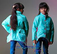 Детская курточка Уголки