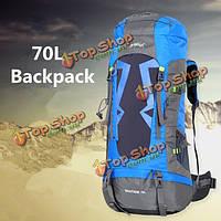 70л походы путешествия альпинизм водонепроницаемый рюкзак