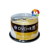 DVD+R диски для видео Hewlett-Packard Cake box 50