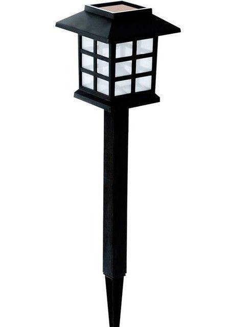 Садовый светильник на солнечной батареи RGB PL-249