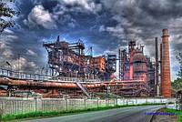 Демонтаж заводов на металлолом