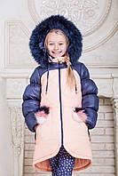 Куртка зимняя для девочек Милана