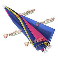 Складной зонт Радуга солнцезащитная кепка гольф путешествия отдых на природе рыбалка охота