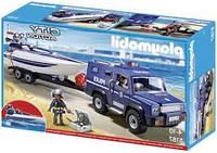 Конструктор Playmobil 5187 Полицейский джип с катером , фото 1