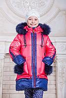 Зимняя куртка для девочек Эльза