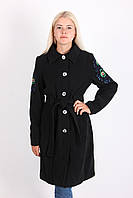 Молодежное пальто с рисунком на спине , фото 1