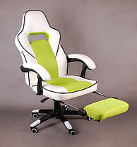 Офисное кресло FBG027, эко-кожа, функция поддержки ног, фото 2