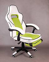 Офисное кресло FBG027, эко-кожа, функция поддержки ног