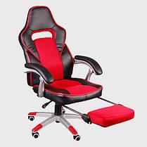 Офисное кресло FBG041, эко-кожа, функция поддержки ног, фото 3